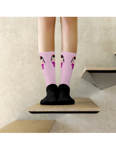 Chaussettes Ching Pink