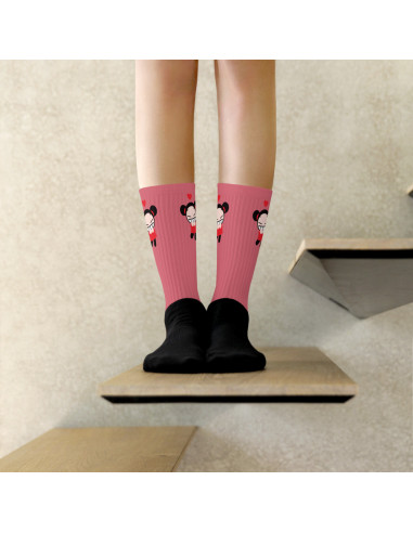 Chaussettes Pucca Pinkie