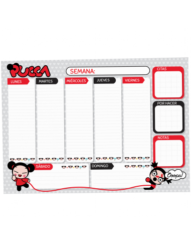 Pucca Planner