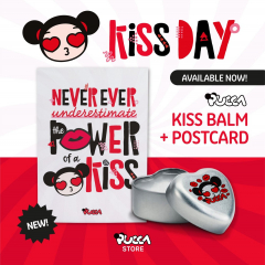 💋Today is #WorldKissDay, Pucca's favorite day of the year! 😘 We may not be able to give kisses and have personal contact right now but who said we cannot send kisses? 💌 Never ever underestimate the power of a kiss! 💞Discover the 🆕 new Pucca Kiss Balm Collection and spread love without restrictions! 💖 Don't forget to send your kisses to your beloved ones! Now available in Pucca Store! 🛍 #SendKisses #PuccaChallenge #Love #Pucca #Kiss #Balm #puccastore