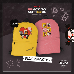 🏃🏻♀️Wherever you go, go always with Pucca! ❤️🖤 🎒 New Pucca Back to School backpacks are ideal for school, college, university, outings, picnics... ☔️ They are waterproof and have a large separate pocket for your laptop or tablet and even a hidden pocket with zipper on the back! 🕵🏻♀️  🛍 Now available in Pucca Store! 🛒  #pucca #garu #backtoschool #september #backpacks #sweatshirt #case #mobile #laptop #books #back #backtoschool2021