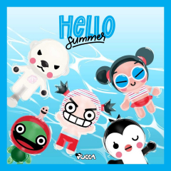 ☀️ Summer is here! Beach, sun, holidays and pool! 🙌🏼 How would you like to spend your summer? ⛱ #pucca #summer #garu #friends  #summer2021 #june