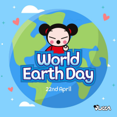 🌍 Today, on World Earth Day, we must reflect and 😦become aware of the environmental problems and pollution that affect the place we live. 💡🚰 ♻️ Pucca brings you 5 ideas to help take care of our planet, which ones would you add? 📝 #WorldEarthDay #environment #planet #pucca #care #Earth #climatechange #pollution