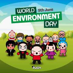 🌍 Caring for our planet and its ecosystems is everyone's business 🌳 Let's fight together to ensure a sustainable future🚰  Happy World Environment Day! 🌱 #EnvironmentDay #WorldEnvironmentDay #awareness #pucca #environment #environment #garu #nature