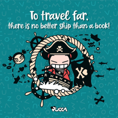 📚 A book is a treasure, a friend, the cheapest way to travel! ⛵️ What is the book that makes you go back in time and remember your childhood? Has any of them changed your life? 🤓Celebrate #WorldBookDay and share your favorite titles. #Pucca #Reading #Reading #Books #bookstagram