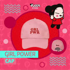 🧢 Say Hello to the new Pucca Girl Power caps!🧢 The power of pink! 💕  🛍  Now available on Pucca Store! 🛍  #cap #pucca #girlpower #puccastore #puccagifts #merchandising #puccaworld #puccalovers